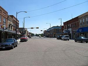 Sidney, Nebraska - Downtown Sidney
