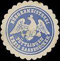 Siegelmarke Bürgermeisterei Püttlingen Kreis Saarbrücken W0382838.jpg
