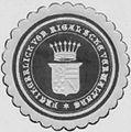Siegelmarke Freiheerlich von Rigalsche Verwaltung W0342947.jpg