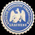 Siegelmarke Königlich Preussische Commandantur Graudenz W0221134.jpg