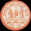 Siegelmarke Königliche Stadt Brüx W0319572.jpg