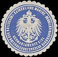 Siegelmarke K. Marine Germaniawerft Kiel Inspektion des Unterseebootswesens Baubeaufsichtigung W0357492.jpg