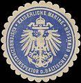 Siegelmarke K. Marine Küstenbezirksinspektor der Baltischen Gewässer W0346753.jpg