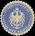 Siegelmarke K. Marine Kommando der II. Geleitflottille W0357390.jpg