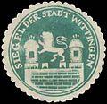 Siegelmarke Siegel der Stadt Wittingen W0386607.jpg