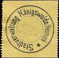 Siegelmarke Stadtverwaltung Königswalde-Neumark W0393705.jpg