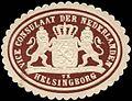 Siegelmarke Voce Consulaat der Nederlanden te Helsingborg W0283592.jpg