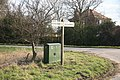 Signpost Owston Ferry Road - geograph.org.uk - 1756350.jpg