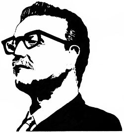 Silhouette of Salvador Allende speeches 02.jpg