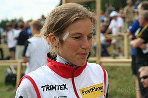 Simone Niggli-Luder - Image: Simone Niggli Luder orienteering 1