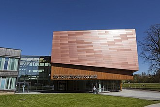 Sir John Deane's College - New College building completed in 2010 as part of a multi-million pound project.  Architects: Broadway Malyan