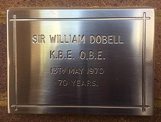 William Dobell - Image: Sir William Dobell memorial plaque