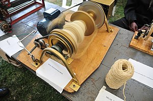 Maker Faire Africa - Image: Sisal Twinner Machine