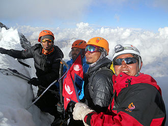 Rukum District - Summit Ridge of Sisne Peak in Rukum, Nepal.