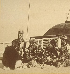 Sitka, Alaska - Sitka, Group of Distinguished Chiefs (1868)