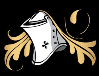 Helmet (heraldry) - Image: Skraiste 3