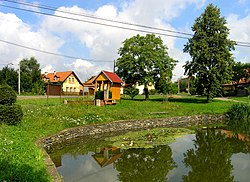 Hranice, part of Slavošov village