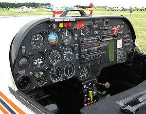 Slingsby T67 Firefly - Slingsby Firefly T67C cockpit