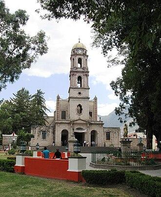 Temascalcingo - Image: Sn Miguel Arch Temas MX
