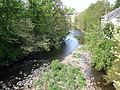 Snuff Mill Bridge, the White Cart, Cathcart, Glasgow, Scotland.jpg