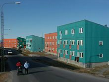 many inuit in greenland now live in modern public housing