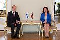 Solvita Āboltiņa tiekas ar Somijas vēstnieku (15123422811).jpg