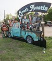 Some would call this eclectic, others funky, art in the vibrant South Austin neighborhood of Austin, Texas LCCN2014632539.tif