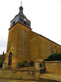 Sorbey (Meuse) L'église Saint-Martin.JPG
