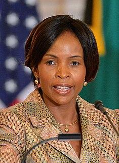 Maite Nkoana-Mashabane South African politician