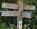 South Downs Way signpost, Botolphs.jpg
