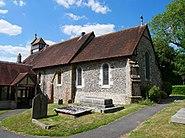Southeast View of Keston Parish Church