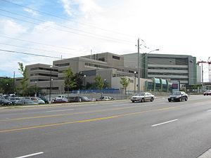 Southlake Regional Health Centre - Southlake Regional Health Centre, view from the northeast