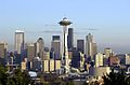 Space Needle and skyline from Kerry Park, 2000.jpg