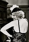 Thelma Todd wearing a Eugénie hat