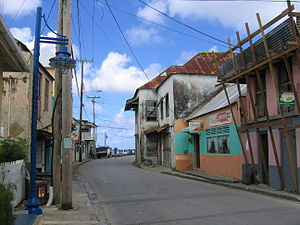 Speightstown - A downtown street