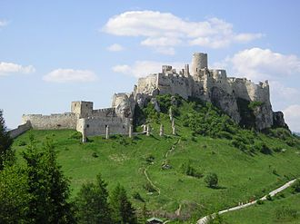 History of Slovakia - The Mongol invasion in the 13th century led to construction of mighty stone castles, such as Spiš Castle.
