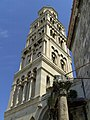Split, zvonice baziliky, 14. stol.jpg