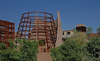 Las Vegas Springs - The Desert Living Center rotunda at the Springs Preserve