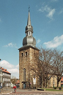 This is a photograph of an architectural monument.It is on the list of cultural monuments of Sprockhövel, no. 6