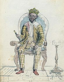 Sri Rajadhi Raja Sinha, King of Kandy, on his throne.jpg
