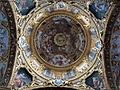 Ss. annunziata del vastato, int., cupola con affreschi di giovannio andrea ansaldo 02.JPG