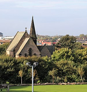 South Shields Town in Tyne and Wear, England
