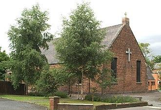 St Mary's Church, Lower Ince - Present church