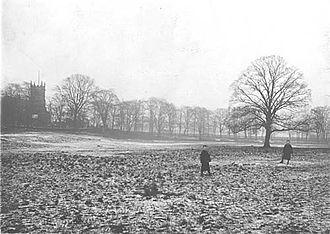 Handsworth Park - St Mary's glebe before the Park