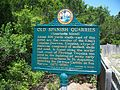 St Aug Anastasia SP quarries plaque01.jpg