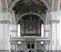 St Gallen Stiftskirche Blick zur Empore.jpg