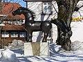 St Märgen Skulptur Pferd.jpg