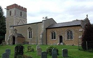 Rushden, Hertfordshire - Image: St Mary, Rushden, Herts geograph.org.uk 359733