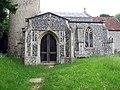 St Michael, Aslacton, Norfolk - Porch - geograph.org.uk - 851733.jpg