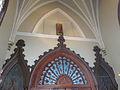 St Patrick Church NOLA Oct2012 Over Inner Doorway.JPG